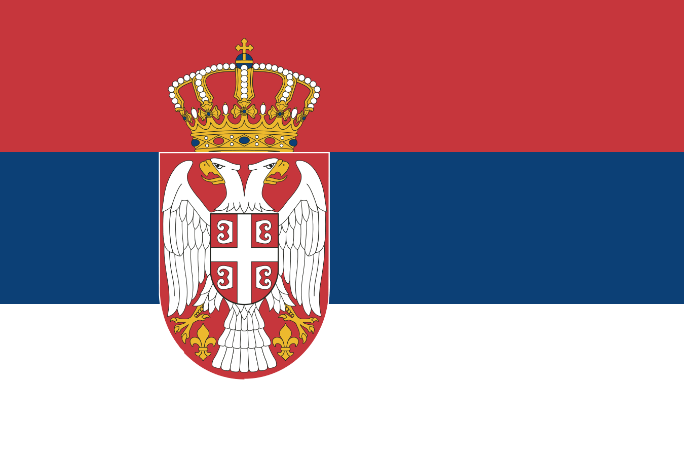 Flag of Serbia svg